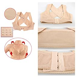 Vktech® Lady Chest Support Belt Band Posture Corrector Body Shaper (Chest Support Belt)