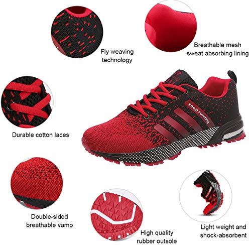 Running Entraînement Chaussures Trail Basket Qimaoo Course Sport De Hommes Femmes Rouge Athlétisme Fitness Mode Compétition 0qdaPdCw