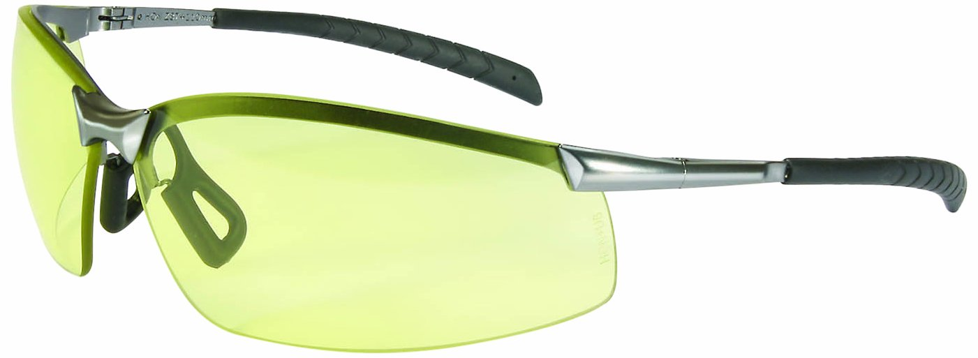 North by Honeywell A1302 GX-8 Series Safety Eyewear, Brushed Steel