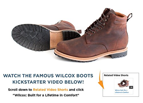Wilcox Boots | Classic Style + Premium Comfort Shiloh Rust Brown-11.5 by Wilcox (Image #2)