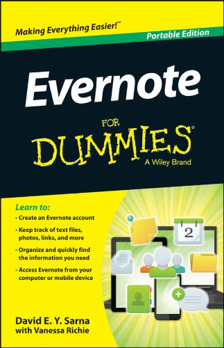 Evernote For Dummies簧