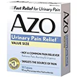 AZO Standard Urinary Pain Relief Tablets, 180-count Total AZO-hu
