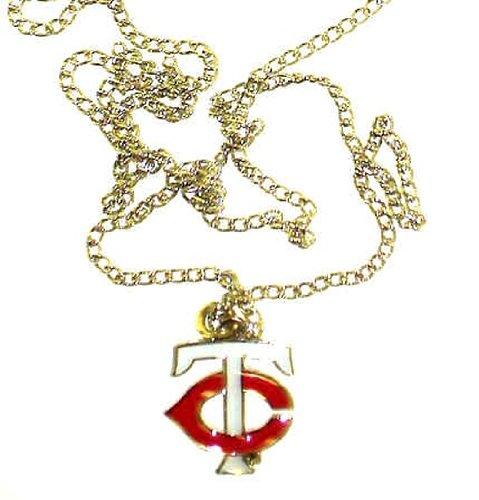 Small Minnesota Twins TC Logo Pendant/Necklace by Aminco