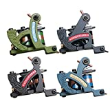 Dragonhawk 4 Standard Tunings Tattoo Machines Fine Lining Shading Machine Lining Machine Coloring Machine