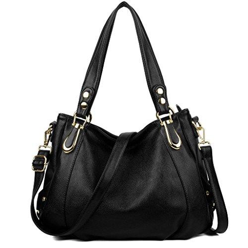 UTO Women Handbag PU Leather Purse Hobo Style
