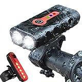 Best Cree Bike Lights - BurningSun Bike Light Set 5 Mode 1000 Lumens Review