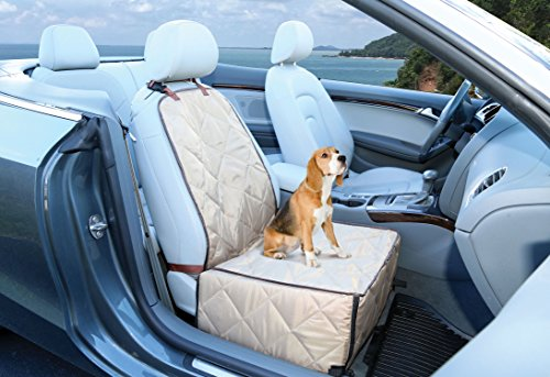 Ideas In Life Dog Car Seat Cover - 2 in 1 Bucket Seat Cover and Car Pet Seat - With Seat Anchor Strap and Dog Leash Connector by Ideas In Life (Image #5)