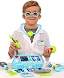 4x4 fisher - Kangaroos 19 Pc Pretend Doctor Kit with Light Up X-Ray Machine