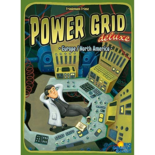 Rio Grande Games Power Grid Deluxe (Plant Power Game)