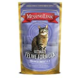 The Missing Link - Original All Natural Superfood Cat Supplement – Balanced Omega 3 & 6 to support Healthy Skin Coat, Immunity and Overall Health – Feline Formula – 6 oz.