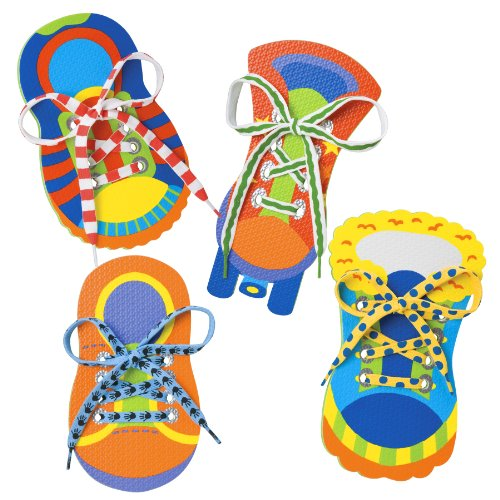 51wlTg6s%2BZL - ALEX Toys Little Hands One Two Tie My Shoe