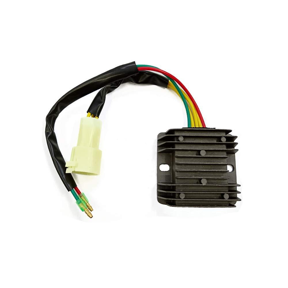 Triumilynn Voltage Regulator Rectifier Fits for 1993-2000 Honda TRX 300 Fourtrax TRX300 FW 2x4 4x4 Replace# 31600-HC5-970 31600-HM5-630 Triumilynn Parts