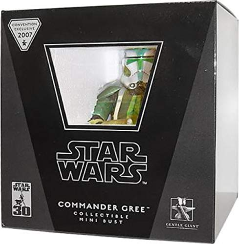 Gentle Wars Giant Busts Star - Gentle Giant Star Wars Mini Busts Commander Gree Exclusive Mini Bust