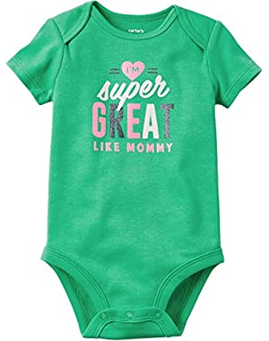 Baby Girls' Super Great Bodysuit