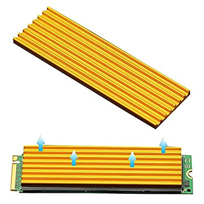 NVMe Heatsinks M.2 NGFF SSD 2280 Heatsinks Laptop PC Memory Cooling by Angel mall