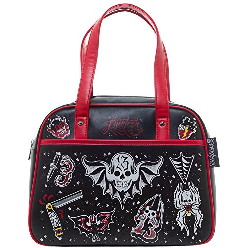 Sourpuss-Friday-the-13th-Bowler-Purse-Black