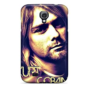 Perfect Hard Phone Covers For Samsung Galaxy S4 (TtO18705KPzo) Support Personal Customs HD Kurt Cobain Pictures