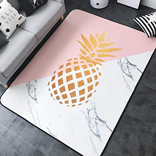 - Decorative Rugs, Modern Nordic Carpet Rectangle Mats for Bedroom Living Room Simple Bronzing Coffee Table Mattress Tatami Crawler Pad Non-Slip Washed-b 150x195cm(59x77inch)