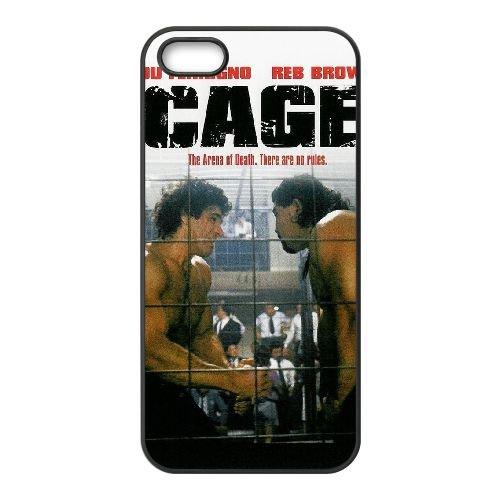 K6W73 Cage Haute Résolution Affiche Q5U9VU coque iPhone 4 4s cellule de cas de téléphone couvercle coque noire DK4TKC3SJ