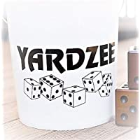 Yardzee Vinyl Decal (Black), To Put on a Large Bucket or Pail
