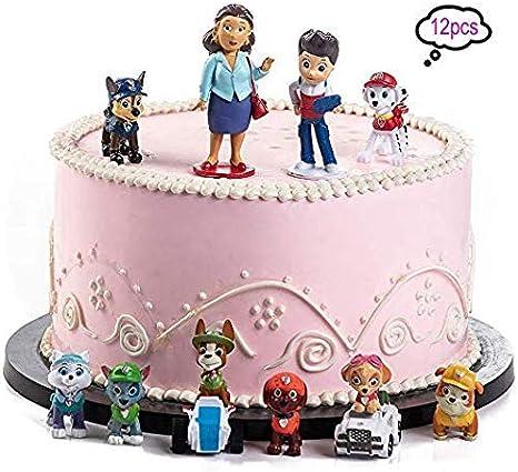 Pleasing Wents Paw Dog Patrol Mini Figures Set Birthday Party Supplies Funny Birthday Cards Online Ioscodamsfinfo