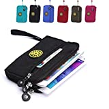 Artcraft(TM) Sport Nylon Cell Phone / Camera Money Wallet Pouch Mini Wrist Messenger Bag Wristlet Cycling Outdoor Hunting Hiking Pouch Packs (Black)