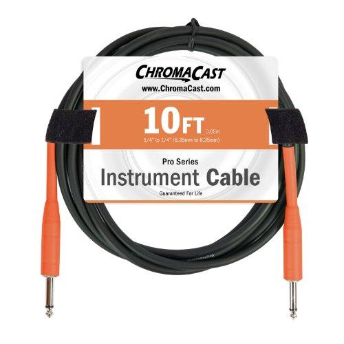 ChromaCast Cables CC PSCBLSS 10SOR Instrument Straight