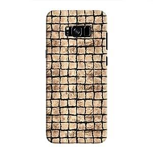 Cover It Up - Brown Black Break Mosaic Galaxy S8 Plus Hard Case