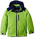 Kamik Winter Apparel Boy's Chase 3In1 Down, Gecko/Navy, 6