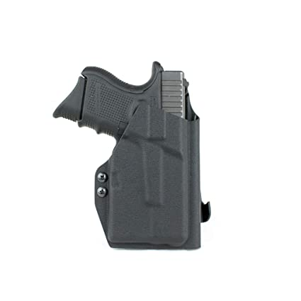 Priority 1 Holsters Outside The Waistband Holster for Glock 26/27 / 33 with  Streamlight TLR-6 (TLR6) Right Handed Paddle