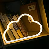 Cloud LED Lights Decorative Neon Lights Wall&Table Decor Home Birthday Party Supplies Marquee Cloud Battery Night Light