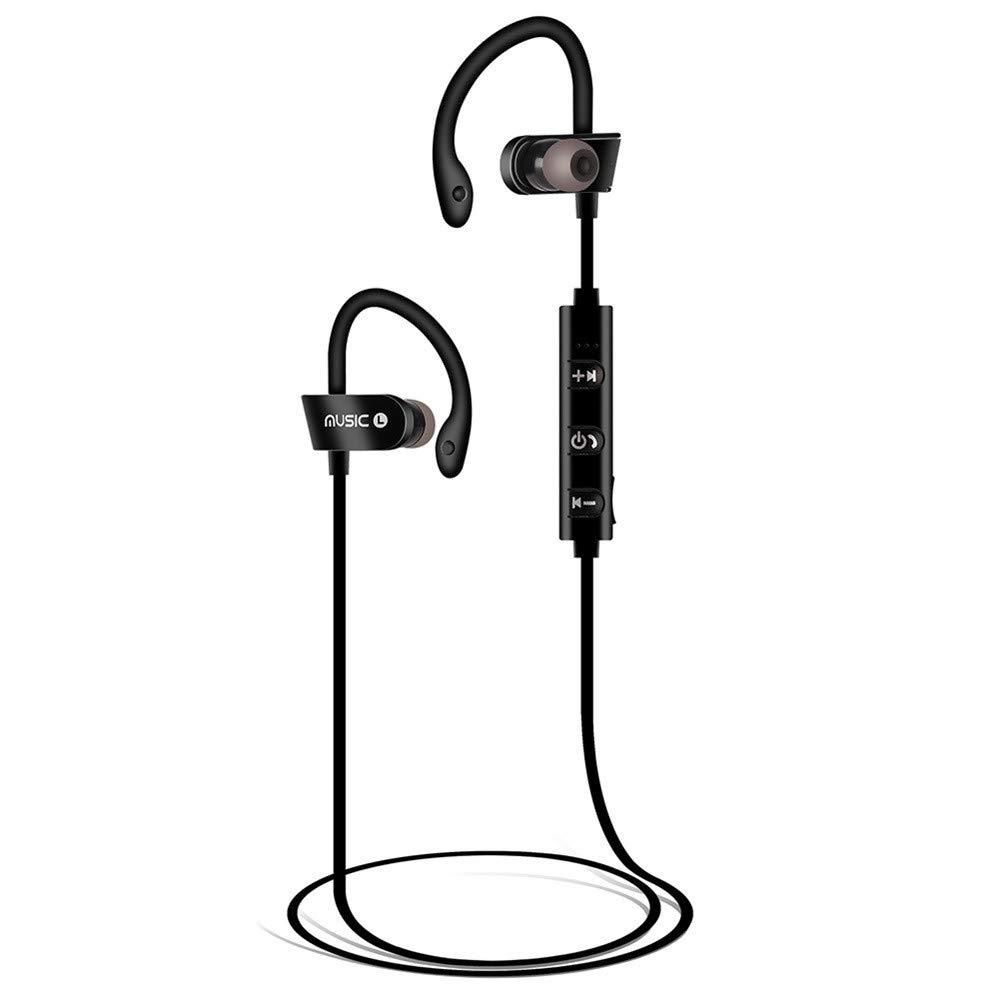 2019 Wireless Bluetooth Headset Headphones Sports Sweatproof Stereo Earbuds Earphone