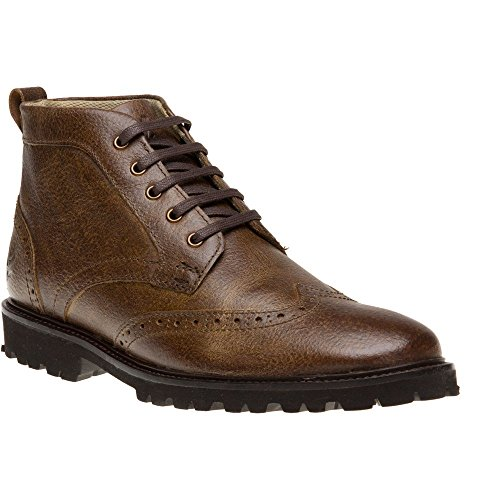 Lnss Herren Whitrope Kurzschaft Stiefel Brown (125 Dark Brown)