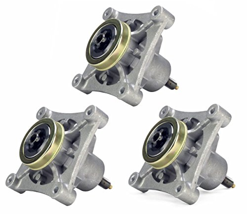 Three (3) Pack Erie Tools Mower Spindle Assembly for AYP 174356 174358 Husqvarna 532 17 43-56 Fits AYP 48'' Decks 2002 & Newer by Erie Outdoor Power Equipment