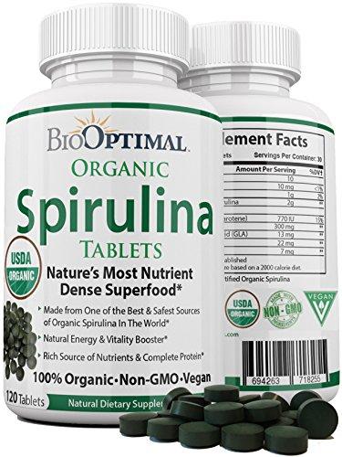 BioOptimal Organic Spirulina