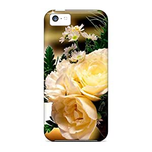 Bouquet Of Yellow Roses Case Compatible With Iphone 5c/ Hot Protection Case
