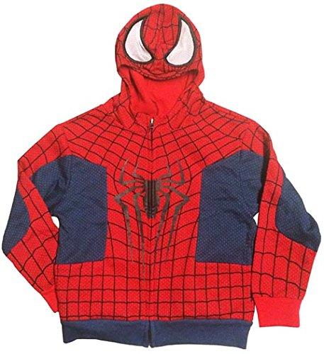 Amazing Spider-Man Costume Toddler Hoodie Medium 3T