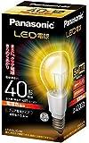パナソニック LED電球 口金直径26mm  電球40W形相当 電球色相当(5.4W) 一般電球・クリアタイプ LDA5LCW