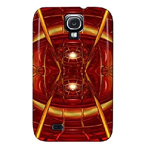 3D And CG TPU Red Case For Sumsang Galaxy S4 Red Dawn