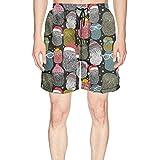 Custom Party of Screech Snowy Owls Printed Man Short Beach Shorts