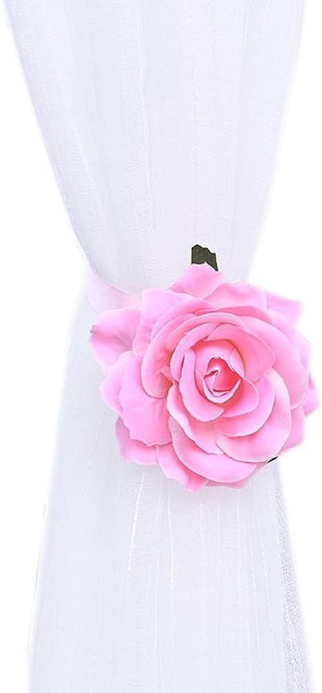 The Pink Rose Tieback