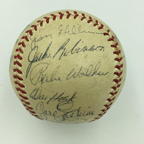 1955 Brooklyn Dodgers WS Champs Team Signed Baseball Jack...