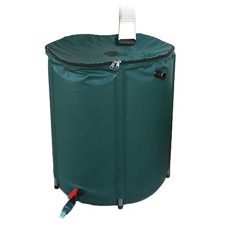 Amazoncom 50 gallon Portable Rain Barrel Water Barrel Garden