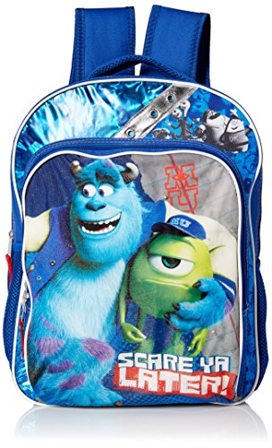 [Disney Monsters Light Up Backpack, Blue, One Size] (Animal Costumes Coupon Code)