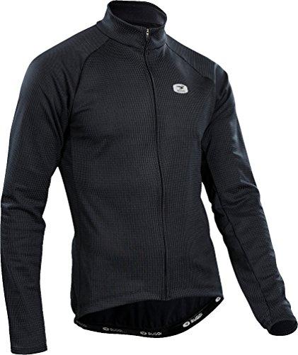 Midzero Zip Shirt Sugoi (SUGOi Zap Thermal Long-Sleeve Jersey - Men's Black, M)