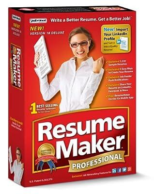 ResumeMaker Professional Deluxe 18