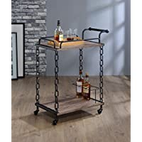HomeRoots Kitchen 285817-OT Carts, Multicolor