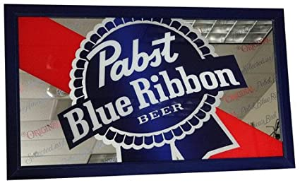 Pabst blue ribbon beer logo