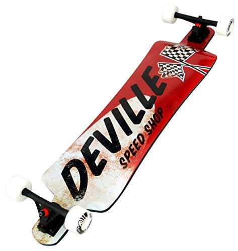 Deville Longboards DEVILLE Bonneville 41.0'' Micro-Drop Longboard by Deville Longboards