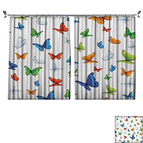 DESPKON Environmental Protection Material Polyester Butterflies Animal Clipart